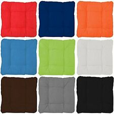 SEAT PAD NEW COLOURFUL  DINING ROOM GARDEN KITCHEN CHAIR CUSHIONS WITH TIE ON