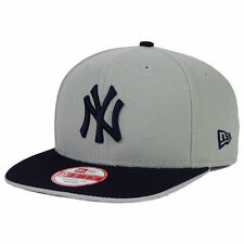 New York Yankees New Era MLB Under Snapper 9FIFTY Snapback Flat Bill Cap Hat NY