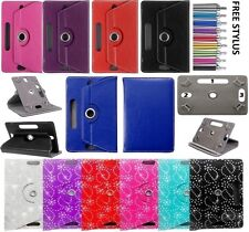 "7-8"" Inch 360 Folio Leather Flip Case Cover For Amazon Kindle Fire 2015"