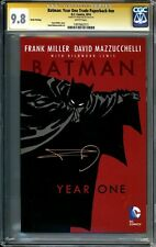 CGC SS 9.8 Batman Year One Trade Paperback TPB Signed Frank Miller 404 405 406