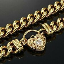 Euro 18ct Yellow Gold-Layered Lobster Euro Chain Necklaces