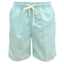 Soul Star Men's Lana Swim Beach Shorts Pale Blue