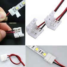 Wholesale SINGLE CONNECTOR 2-Pins PCB Adaptor For 3528 5050 Led Strip Wire