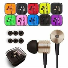 Color Metal Piston Stereo In-Ear Handsfree Earphones Headphones Headset Earbuds