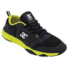 DC Shoes Unilite Flex Action/Sports Trainer/Shoe - Black/Fluro Yellow