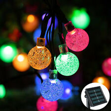 Solar String Light 30 LED Fairy Ball Lights Christmas Garden Wedding Party Decor