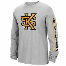 Kennesaw State Owls adidas Play Long Sleeve T-Shirt - Gray - College