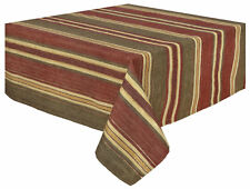 Traders and Company Gramercy 100% Cotton Striped Tablecloth