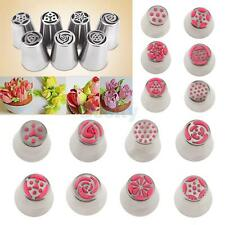 Russian Icing Piping Nozzles Pastry Cupcake Sugarcraft Bake Decorating Tip Tool