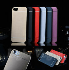 Aluminum Ultra-thin Metal Hard Case Back Cover For Apple iPhone 4S/ 5S/6 Plus f