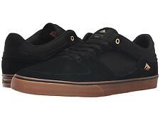 EMERICA 6102000113 964 THE HSU LOW VULC Mn's (M) Black/Gum Suede Skate Shoes