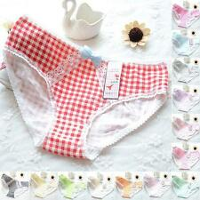 Cute Soft Cotton Briefs Womens Underwear Panties Knickers Bow Thongs Underpants