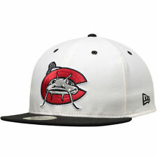 Carolina Mudcats New Era Authentic 59FIFTY Fitted Hat - White/Black - MiLB