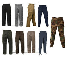 Military BDU Pants Army Cargo Fatigue Tactical Combat Uniform Trousers