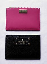 Kate Spade Graham Wallet Wellesley or Maple Court Leather Credit Card Holder NWT