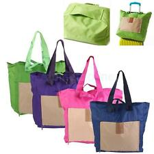 Fashion Tote Folding Portable Reusable Eco Storage Bags Portable Shopping Bag