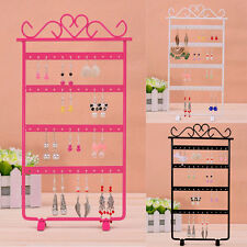 "13"" Metal Earrings Display Show Jewelry Rack Stand Organizer Holder 48 Holes"