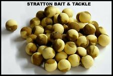 10X 15MM 2 TONED MILKY TOFFEE & PEANUT WAFTER BOILIES SHELFLIFE BAIT CARP