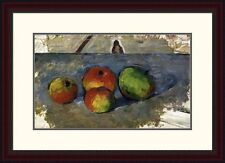 Global Gallery 'Four Apples' by Paul Cezanne Framed Painting Print