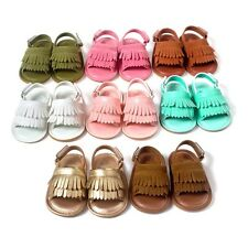 NEW Cute candy color Newborn Baby cozy Leather Moccasin Infant Toddler shoes QIU
