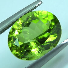 3.44 ct. Amazing Top Rich Green Peridot ++++ Sparkling AAA+