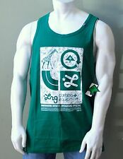 L-R-G Core Collection Tank Top Green White LRG Mens XL NEW NWT