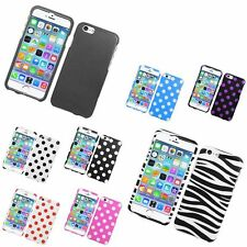 Rubberized Hard Snap-in Silicone Case Cover Compatible With Apple iPhone 6/6s