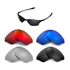 Walleva Replacement Lenses for Oakley Half Wire Sunglasses -Multiple Options
