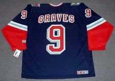 ADAM GRAVES New York Rangers 1998 CCM Throwback Alternate NHL Hockey Jersey