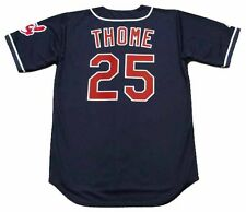JIM THOME Cleveland Indians 1997 Majestic Throwback Alternate Baseball Jersey