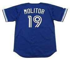 PAUL MOLITOR Toronto Blue Jays 1994 Majestic Throwback Baseball Jersey