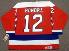 PETER BONDRA Washington Capitals 1990 CCM Vintage Throwback NHL Hockey Jersey