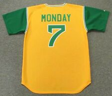 RICK MONDAY Oakland Athletics 1969 Majestic Cooperstown Baseball Jersey