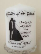 Personalised Mother of the Bride or Groom thank you gift candle favour (1)