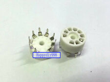 9-pin Vacuum Tube silver plated ceramics Sockets for 12AX7/12AU7/12AT7 GZC9-A