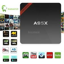 Fully Loaded 4K S905X Quad Core Android 6.0 TV Box Wifi HD Player A9M7