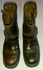 Caterpillar Men's Tan Leather Boots Size 7