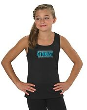 Soffe Performance Tank top with Rhinestone Design