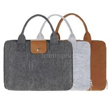 """13"""" Laptop Carrying Pouch Cover Fabric Notebook Sleeve Case Handbag S7J4"""
