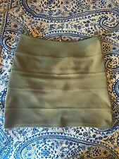 Topshop Grey Bandage Bodycon High Waist Skirt Size 10