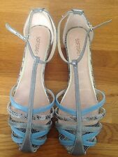 Flat Strappy Sandals Ladies Size 8