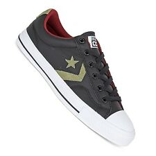 Converse Star Player Leather Ox black - Men's Sneakers in Retro Look