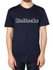 Bollocks T Shirt Tee Slogan Rude Funny Dad Present Uncle Pub Gift Offensive