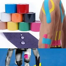 1 Roll 5CMx5M Physio Kinesiology Sports Tape Muscle Waterproof Therapeutic