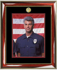 Policeman Police Sheriff Picture Frame Wall Photo Plaque Gift Law Enforcement