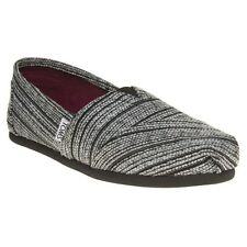 New Womens Toms Metallic Multi Classic Textile Shoes Canvas Slip On
