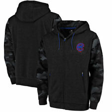 Chicago Cubs Modern Tactical Full-Zip Hoodie - Black/Camo - MLB