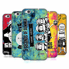 CUSTOM PERSONALISED 5 SECONDS OF SUMMER MIXED ICONS SOFT GEL CASE FOR ZTE PHONES