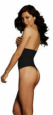 Body Wrap Womens High Waisted Slimming Thong Shapewear for Tummy Control