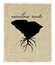 Fiber & Water South Carolina Roots Graphic Art